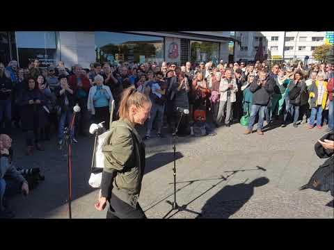 #aufstehen Berlin - #HAMBIBLEIBT Den Hambacher Forst retten / SPD noch zu retten?