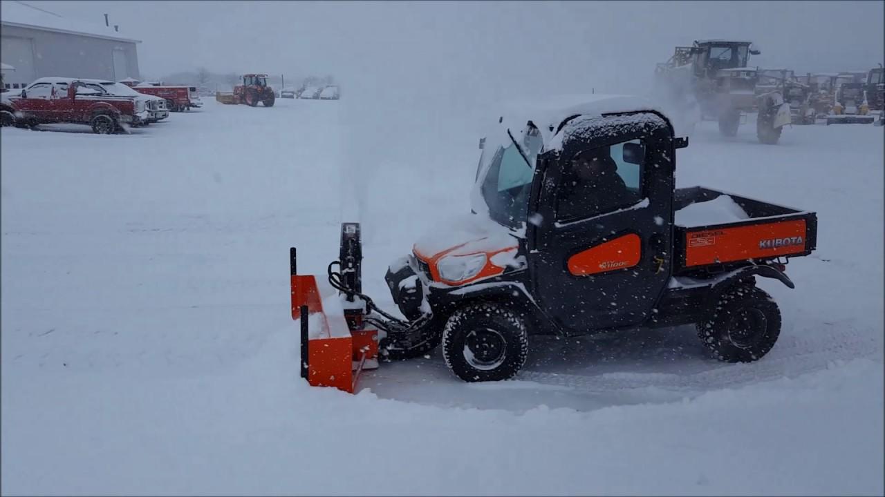 Kubota Rtv Snow Thrower