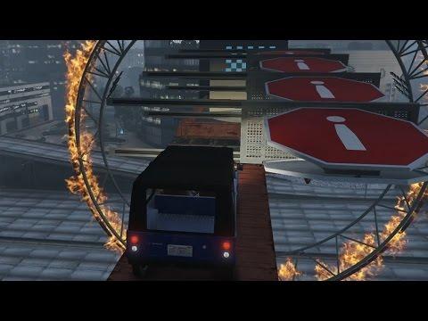SORRY, IK ZAG JE NIET! (GTA V Online Funny Races)