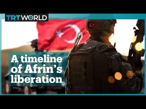 A Timeline of Turkey's Operation Olive Branch