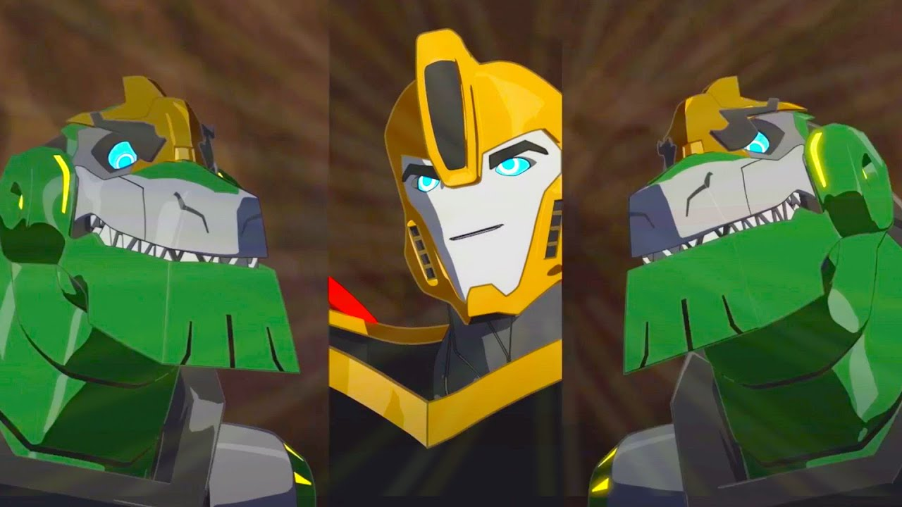 Download Who is the real Grimlock? 👻 Ghosts and Imposters   Robots in Disguise 2015   Transformers Official