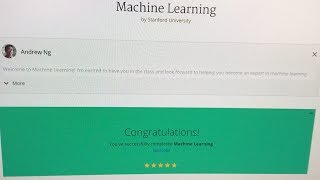 Last week, i finished the machine learning course from standford university and andrew ng on coursera. also learned more about gans continued my deep nanodegree. , links mentioned in ...