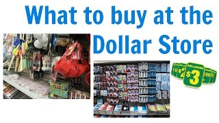 Life Hack: What to buy at the Dollar Store