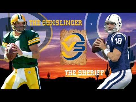 Brett Favre vs. Peyton Manning Highlights (Week 3, 2004) | The Gunslinger vs. The Sheriff | NFL