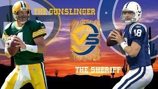 Brett Favre vs. Peyton Manning Highlights (Week 3, 2004) | The Gunslinger vs. The Sheriff | NFL