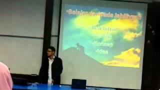 Hilal Asyraf - Future Muslim Writer Workshop - Part 2/2 2017 Video