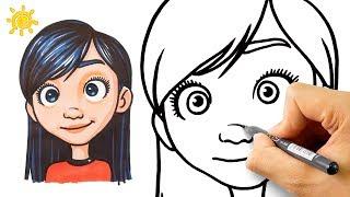 Суперсимейка 2 - Как нарисовать Виолетту Парр - Уроки рисования