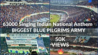 India vs Bangladesh | BIGGEST BLUE PILGRIMS ARMY | Highlights | যুবভারতী কাঁপালো | Salt Lake Stadium