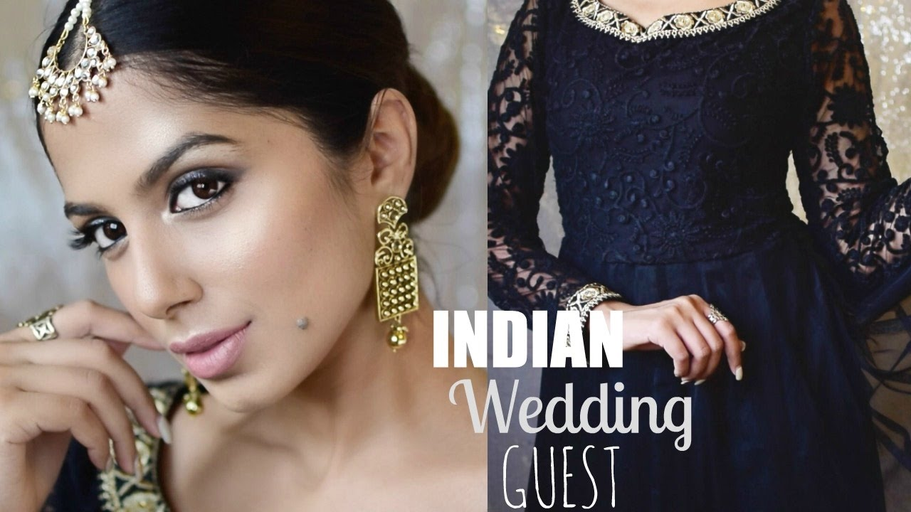 CLASSY Indian Wedding Guest Makeup L Hair Using ONLY DRUGSTORE Products