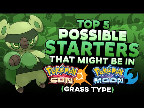 Top 5 Possible Starters For Pokemon Sun and Moon (Grass Type)