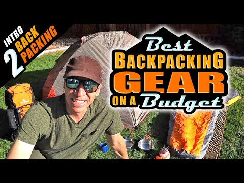 BEST BUDGET Backpacking Gear REVIEW! Complete Set Up - $279!