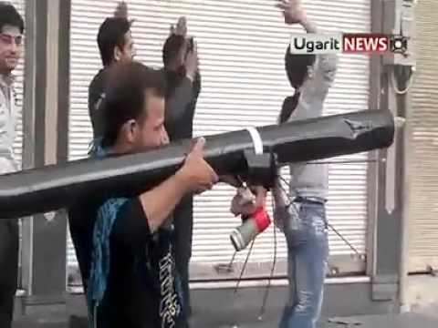 المسلحين في حمص اضحك من قلبك