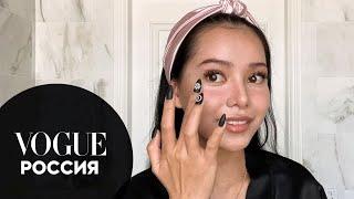 Белла Порч показывает макияж из TikTok Vogue Россия
