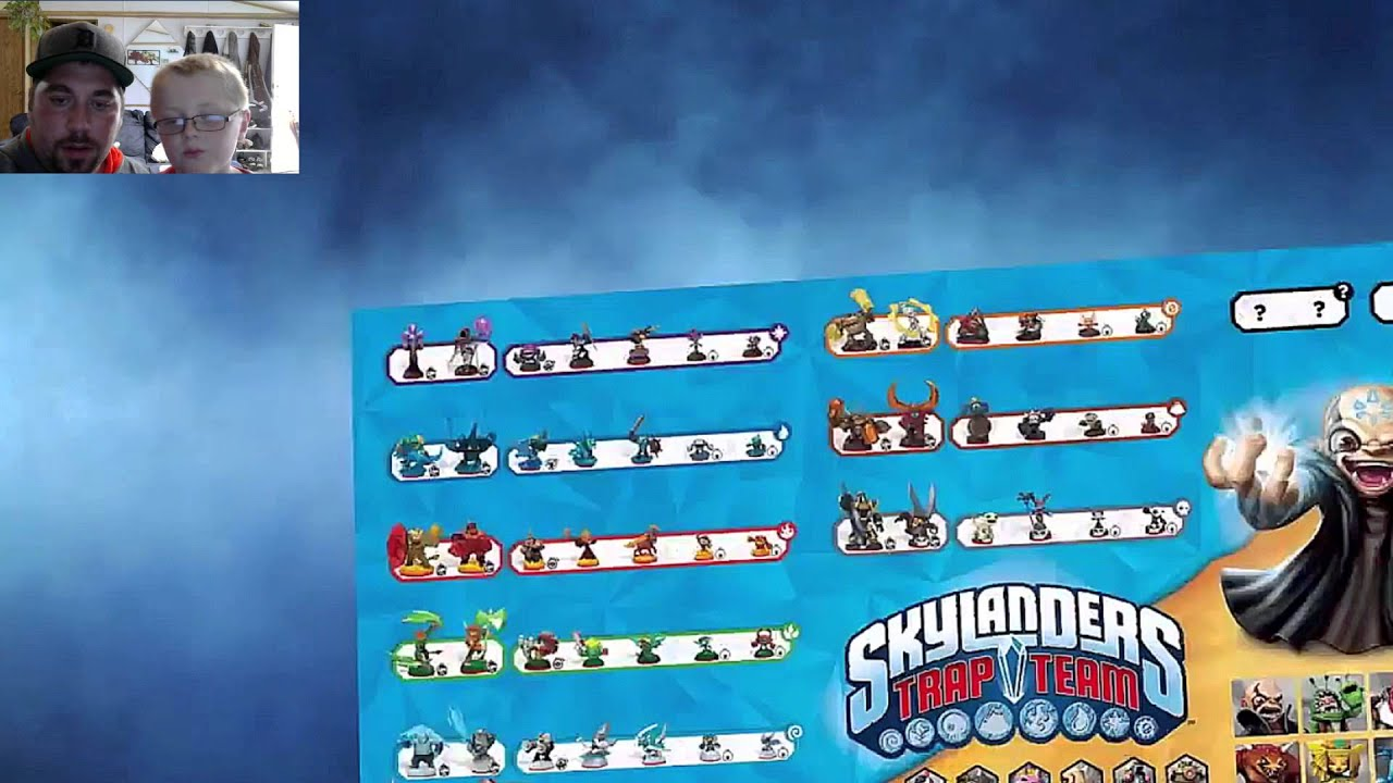 Skylanders Trap Team : Character Poster HD Screenshot + All ...