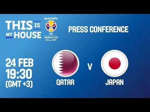 Qatar v Japan - Press Conference