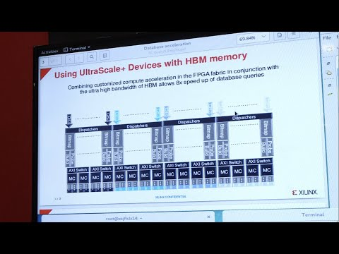 SQL Database Acceleration with HBM Accelerator Card