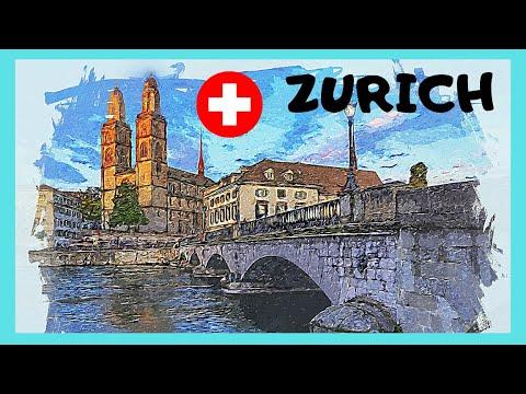 ZÜRICH: Walking around OLD TOWN (ALTSTADT), the medieval centre (SWITZERLAND)