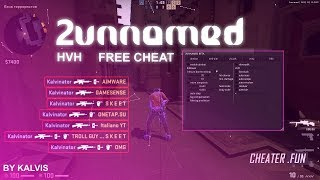 "NEW VERSION "" 2UNNAMED ""🔥CHEAT🔥CS:GO HVH🔥WITH firthY"