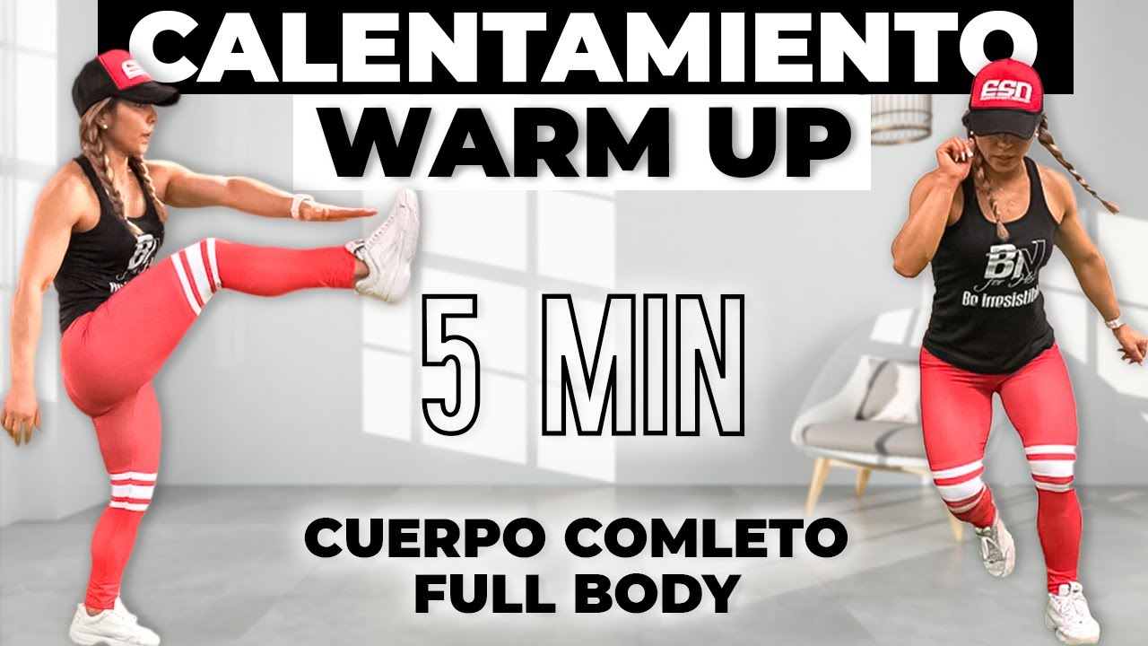 5 MIN. CALENTAMIENTO para HACER EJERCICIO ‼️ Warm Up