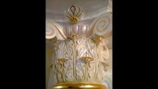 видео Элитная отделка квартиры – фото отделки потолка и камина в квартире в Москве