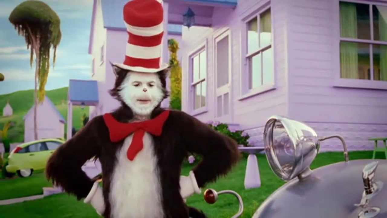 the cat in the hat s l o w super luxurious omnidirectional