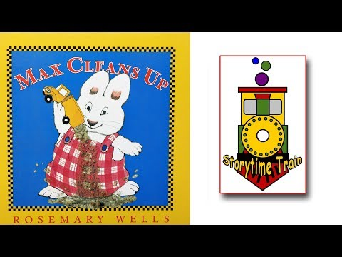 Max Cleans Up - Max And Ruby | Kids Books