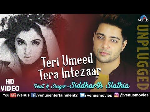 Teri Umeed Tera Intezaar - Siddharth Slathia   Unplugged Cover   Deewana   90's Superhit Hindi Songs