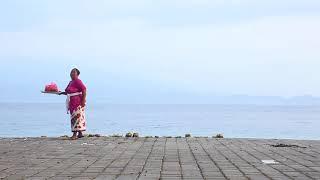 【インドネシアはペニダ島の風景 Pray for god in Nusa Penida  神への祈りペニダ島】