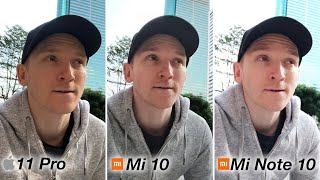 Xiaomi Mi 10 - CAMERA REVIEW vs iPhone 11 Pro / Mi Note 10