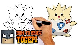 How to Draw Togepi | Pokemon