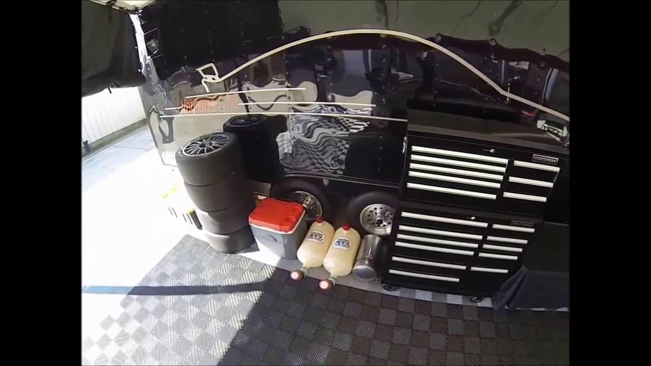R&D Motorsports Paddock SetUp - YouTube