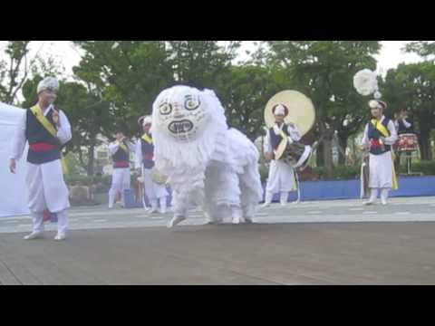 2242. Korean Lion Dance (Busan, South Korea)
