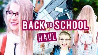 BACK TO SCHOOL/UNI HAUL, den ich KOMPLETT VERLOSE! 😍