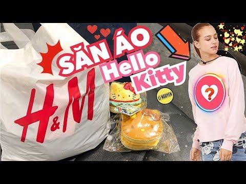 [Lilog] ĐI SĂN ÁO HELLO KITTY TRONG H&M