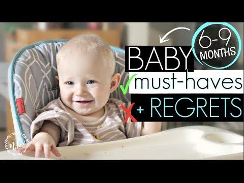 6-9 Months BABY MUST-HAVES & REGRETS! || Natalie Bennett