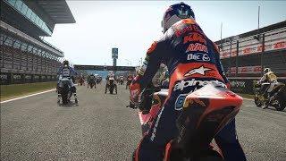MotoGP 17 - KTM Moto2 - Test Ride Gameplay (PC HD) [1080p60FPS]