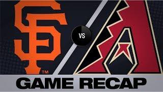 Yastrzemski lifts Giants past D-backs in 11 | Giants-D-backs Game Highlights 8/16/19