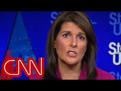Nikki Haley: US not looking to do regime change in Iran