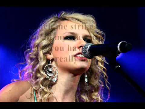 Taylor Swift - Pictures To Burn (Lyrics)