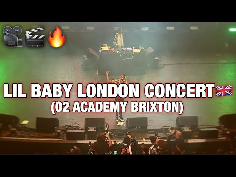 Lil Baby London Concert Live Show (O2 Academy Brixton) @AcesizOfficial