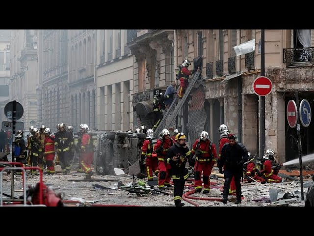 Loud explosion rocks central Paris- multiple injuries reported