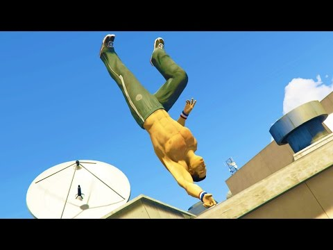 GTA 5 Mods - PARKOUR MOD! (GTA 5 PC Mods)