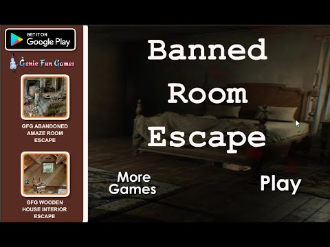 GFG Banned Room Escape - YouTube