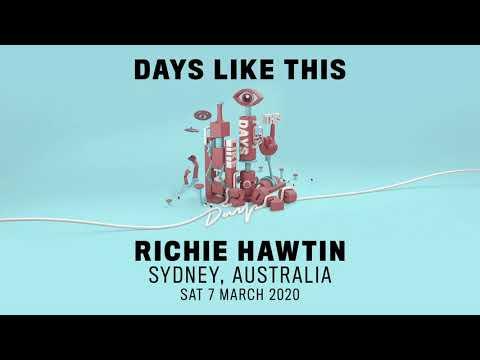 Richie Hawtin - Days Like This - Sydney, Australia -07.03.2020