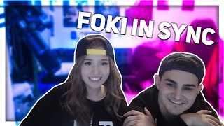 Download Foki almost kisses │Joast Hug │Feds first girlfriend │Cute Moments │Twitch Highlights #1 Mp3 and Videos