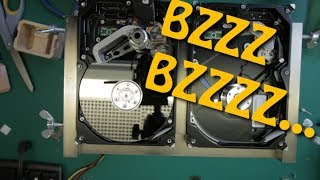 seagate stopped spinning up and now it buzzes