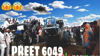 कैसा चला ट्रैक्टर गढ़ी में  Preet 6049 performance with two Harrow in garhi Hissar