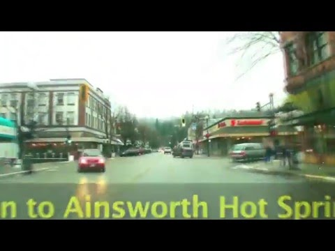 Nelson To Ainsworth Hot Springs In Five Minutes