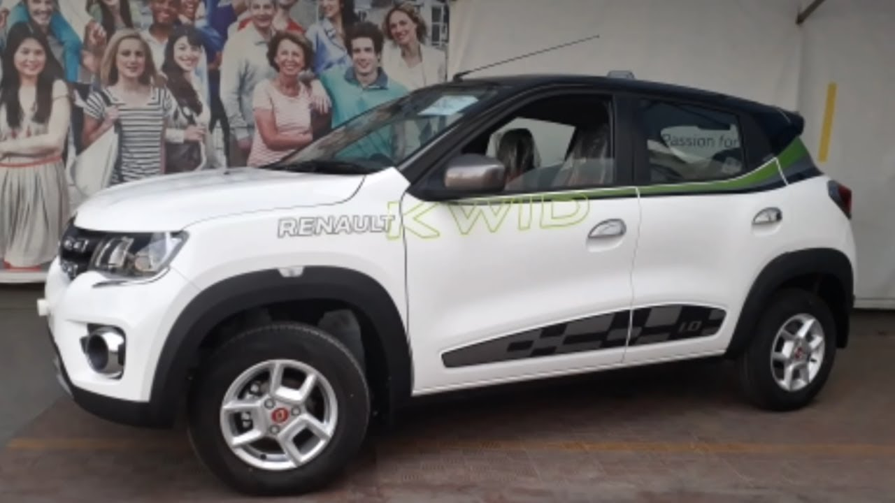 2018 Renault Kwid Rxt Club Series White Colour Edition