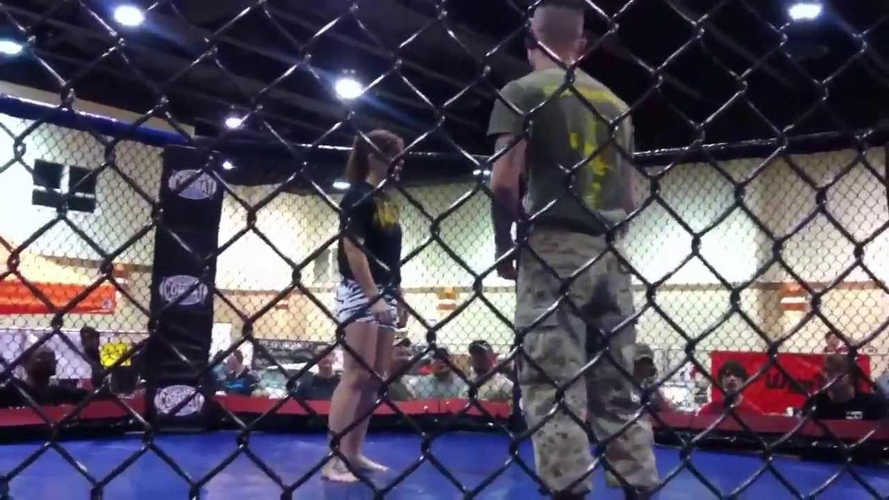 Marine Slams Pretty BJJ Girl and Still Gets Choked Out by the sexy female  bjj whizz